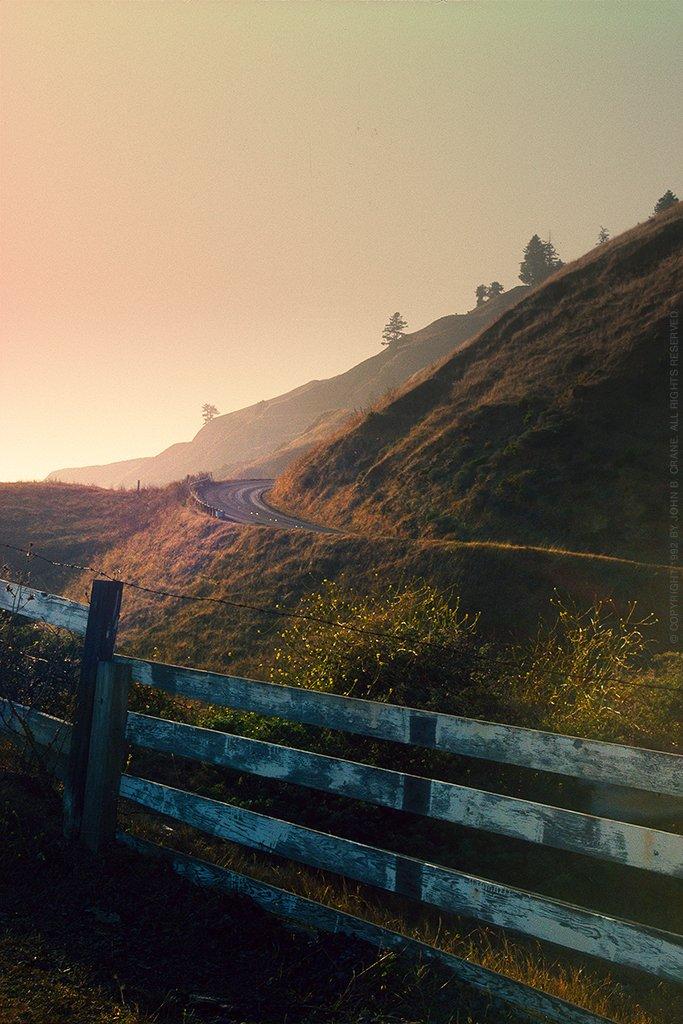 California Coast, Kodachrome 35mm slide film