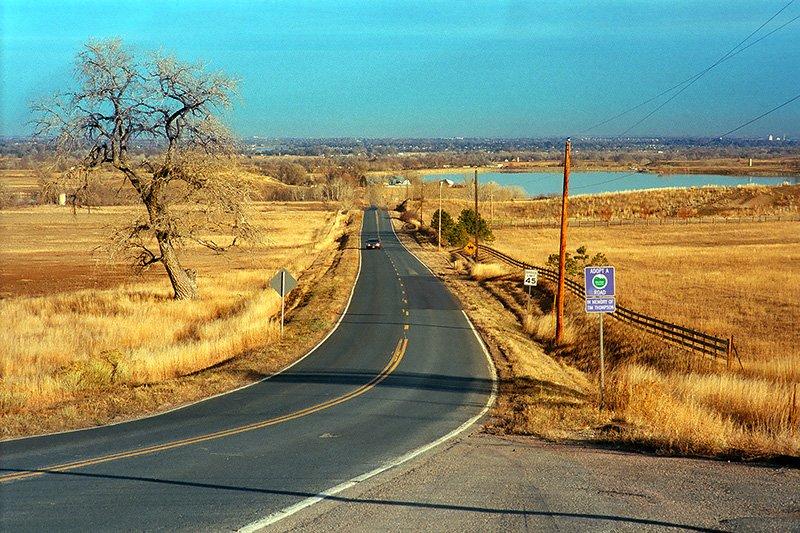 Hygeine Road, Rural Boulder County, Colorado (2014)