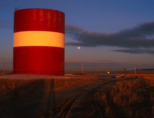 Blue Hour, Medicine Bow, Wyoming