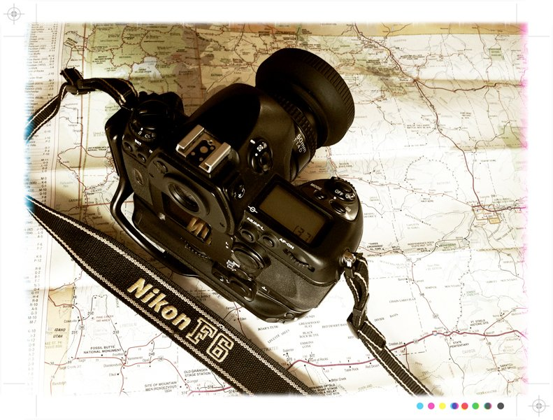 The Nikon F6, my constant companion out traveling.