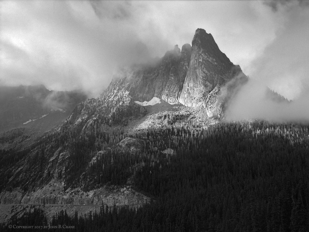 Liberty Bell Peak and Washington Pass, Okanogan-Wenatchee National Forest, Washington (2017)
