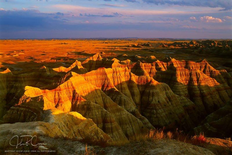 Frame 28-Sunset, Badlands National Park, South Dakota (2018)