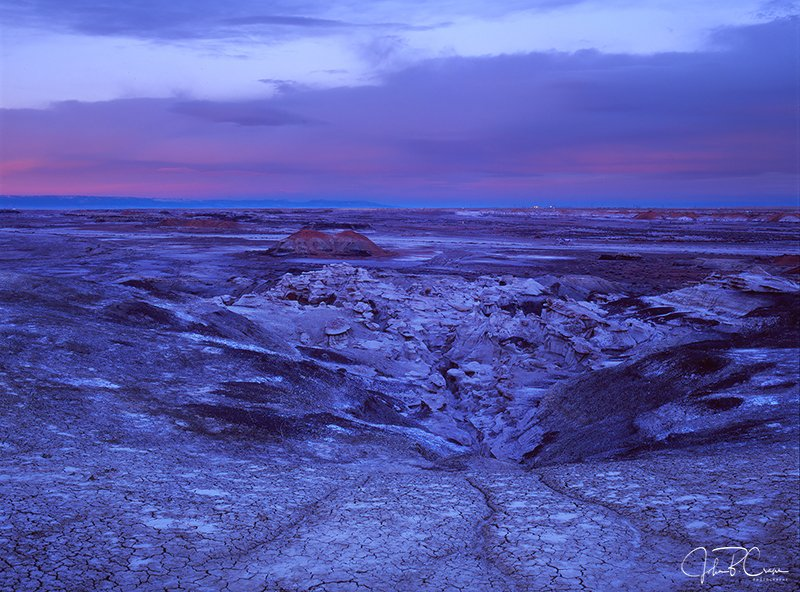 Blue Hour, Bisti/De-Na-Zin Wilderness, New Mexico (2017)