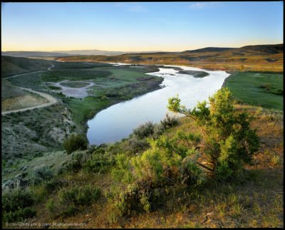 Yampa River Sunrise, Moffat County, Colorado