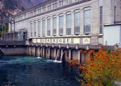 Gorge Dam, Skaggit River, North Cascades, Washington (2017)