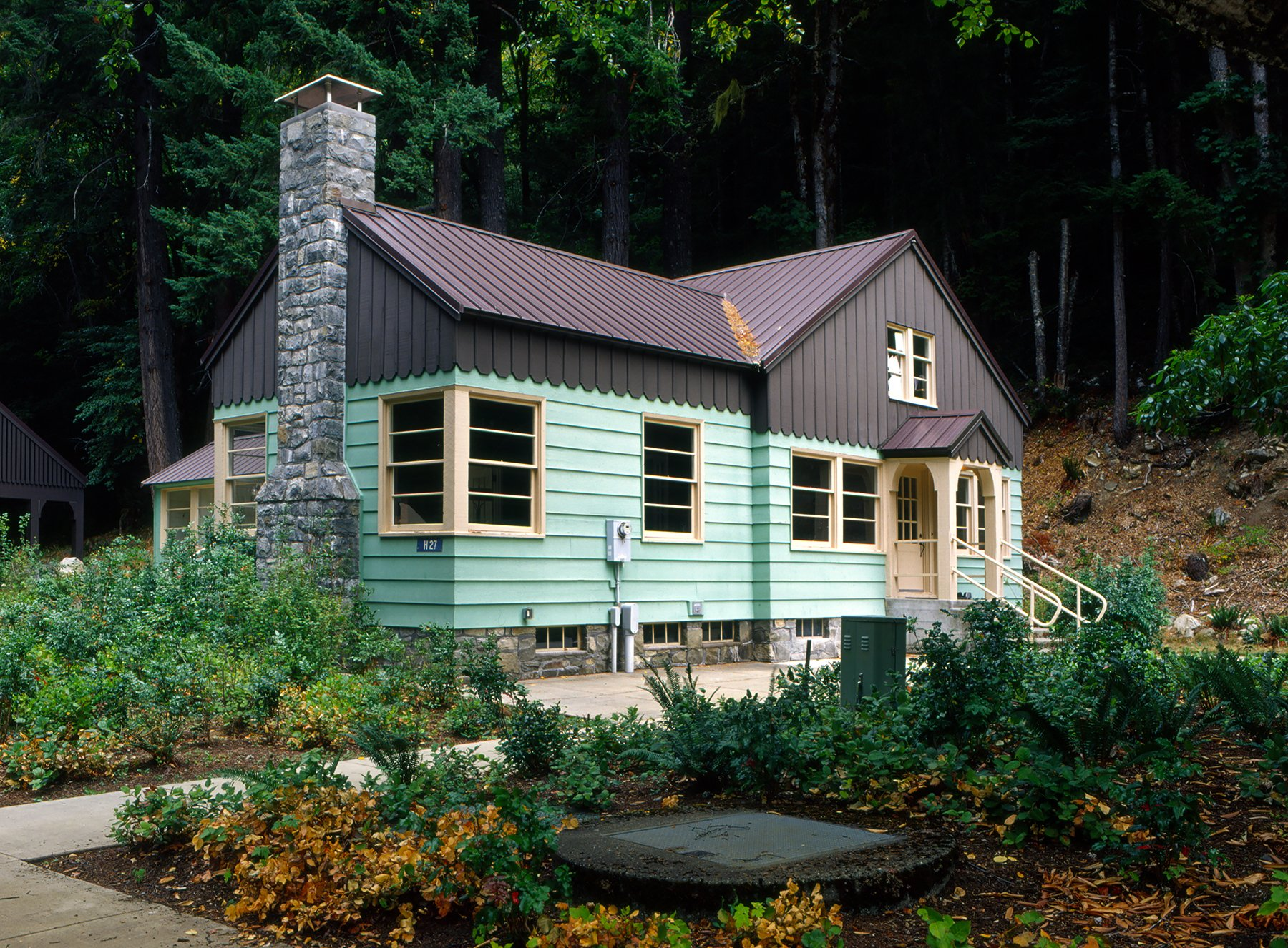 Home of J.D. Ross, father of Seattle City Light, along the Upper Skagit River, North Cascades, Washington (2017)