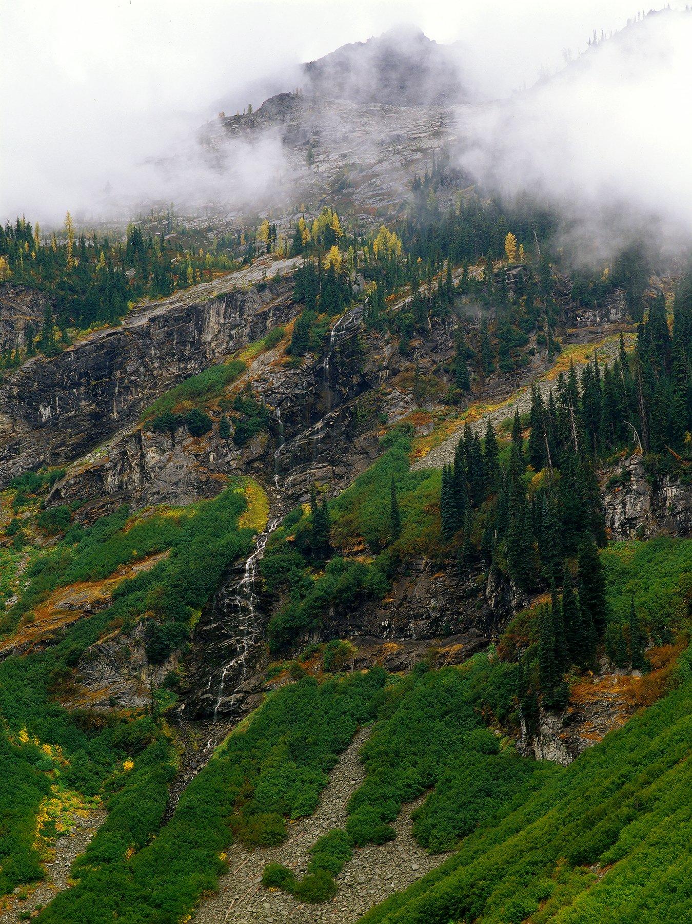 North Cascades above Rainy Lake, North Cascades National Park, Washington