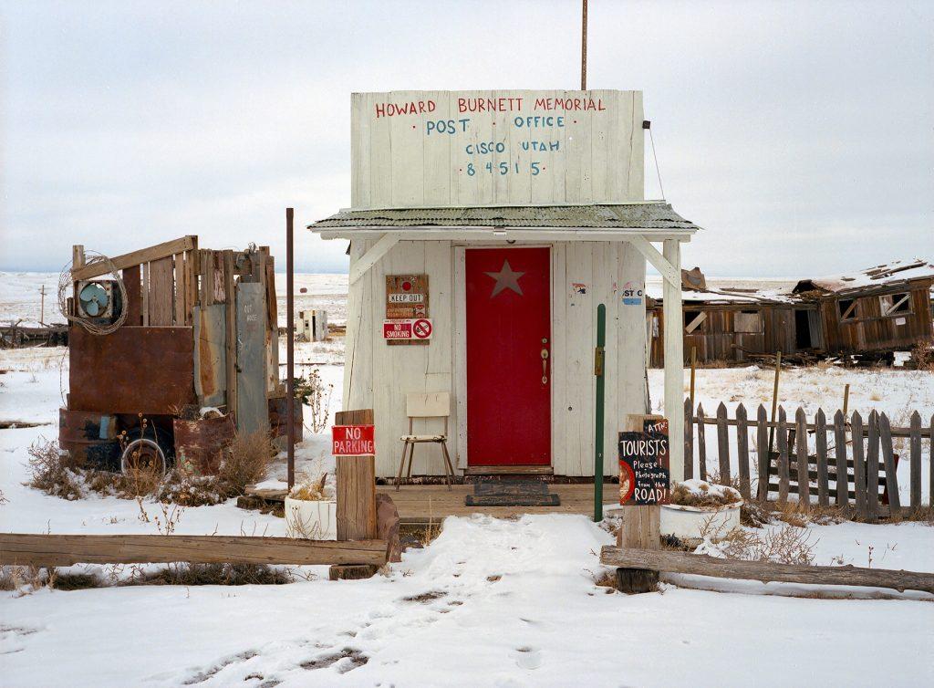 Howard Burnett Memorial Post Office, Cisco, Utah 84515